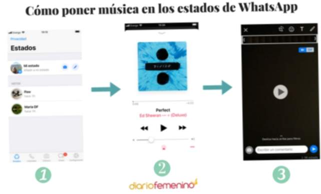 Coloque música nos estados do WhatsApp passo a passo